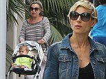 Elsa Pataky with her mum and daughter