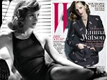 Could've fooled us! Emma Watson admits 'being sexy was never my goal' as she sizzles in sultry new photo shoot
