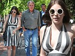 A cross-country dad! Harrison Ford is a dedicated father as he jets to New York to take daughter Georgia to lunch