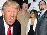 Playing his Trump card! Donald reveals 'its going to get nasty' as stars converge at Celebrity Apprentice grand finale event