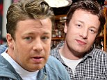 A sprinkle of highlights and lashings of fake tan: Jamie Oliver shows off the ingredients of his makeover as he hosts a Food Revolution street party