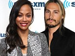Ciao bella! Zoe Saldana dazzles in silver suit amid reports she and Italian stud 'Pirate' Perego are dating