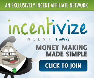 Incentivize CPA affiliate network