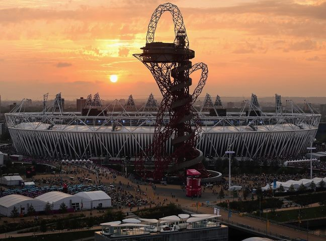 Photo: The sun is setting and the Closing Ceremony of the London 2012 Paralympic Games starts in 40 minutes. Excited? http://l2012.cm/OvOsey