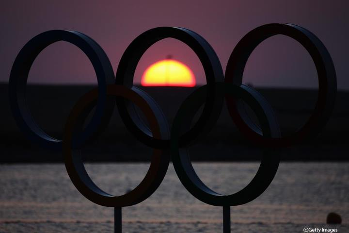 Photo: Olympic Sunset :D   (photo taken during the London 2012 Olympics in Weymouth Harbour GB)