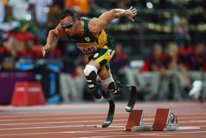 Photo: Described as 'the father of all this' by Seb Coe last night, will Oscar Pistorius win individual gold tonight? See what's in store on Day 10: http://l2012.cm/OiVw0S