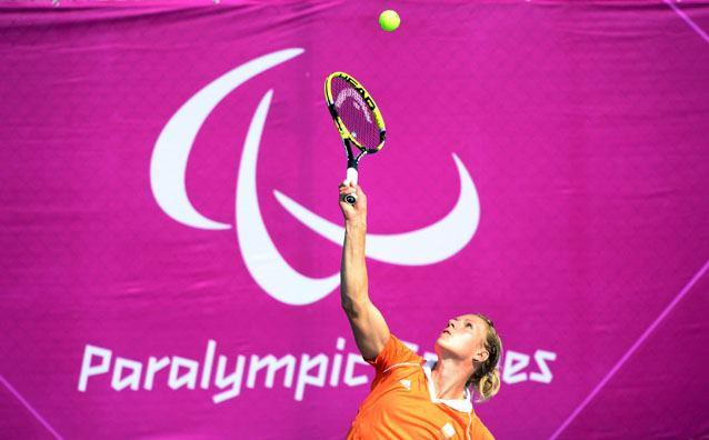 Photo: Welcome to Day 9 of the Paralympic Games! Let's have a like for Wheelchair Tennis star Esther Vergeer (NED), already on a winning streak of 469, if she extends it to 470 today she'll win her sixth gold medal.