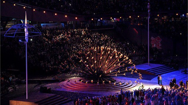 Photo: The Paralympic Cauldron is burning bright and we're ready for some incredible sporting action! There are 28 gold medals up for grabs on Day 1 http://l2012.cm/OiVw0S