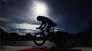 Photo: Michal Stark of the Czech Republic competes in the men's Individual C2 Time Trial on Day 7 of the London 2012 Paralympic Games at Brands Hatch (Getty Images)