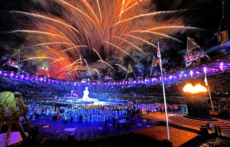 Photo: What a Ceremony - welcome home, Paralympic Games :-) Bring on the sport... http://l2012.cm/OiVw0S