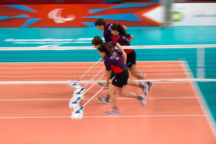 Photo: Welcome to Day 2! We've got 40 gold medals to be won and it's the first day of Athletics action. Let's start the day with a Like for the Games Makers who are back in action for the Paralympics! http://l2012.cm/T0Zuya