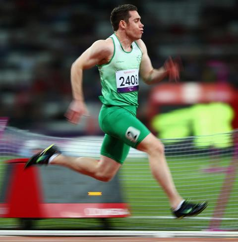 Photo: Please click Like for the fastest Paralympic athlete in the world. Ireland's Jason Smyth broke the men's 100m - T13 World Record tonight! http://l2012.cm/Q8pfLT