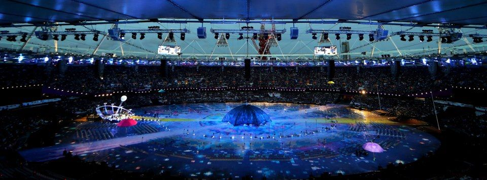 Photo: The London 2012 Paralympic Games Opening Ceremony is beginning! http://l2012.cm/OvOsey