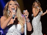 Mariah Carey accused of 'worst lip-synching of all time' during American Idol performance...but rep insists she sang LIVE