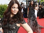 Looking Cannes-tastic! Aishwarya Rai wows in a flowing lace beaded gown as she makes a stunning appearance at the festival