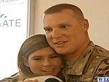 An Army soldier from North Carolina came home to several surprises not least of which was his slimmed-down wife. Specialist Larry Shaffer had been in Afghanistan for an entire year. Misty, his wife was able to lose 100lbs while he was away.