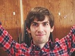 Rich man: David Karp, who founded Tumblr in 2007 in his mother's Manhattan apartment, just made hundreds of millions of dollars after his company was purchased by Yahoo