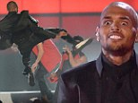 Flipping out! Tough guy Chris Brown beats up dancers onstage in violent acrobatic performance for 2013 Billboard Music Awards