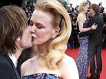 Like she's the Only Girl In The World: Nicole Kidman and Keith Urban only have eyes for each other at Cannes premiere of Inside Llewyn Davis