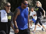 Kid tested, mother approved! Model mother Heidi Klum takes her sons on a hike with bodyguard boyfriend Martin Kristen