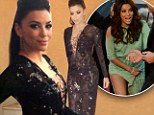 'No wardrobe malfunctions tonight!' Eva Longoria plays it safe after being pictured without underwear... by picking a plunging neckline
