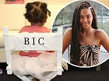This seat is taken! Beyoncé shares sweet photo of a tutu-clad Blue Ivy sat proudly in her monogrammed director's chair