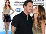 A kiss for her sweetheart! Audrina Patridge puts her love for boyfriend Corey Bohan on display at the 2013 Billboard Music Awards
