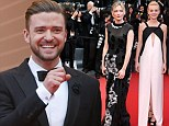 Carey Mulligan, Justin Timberlake and Kirsten Dunst all go for black and white on the red carpet in Cannes