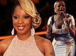Drama: Mary J Blige has been handed a $3.4 million tax bill
