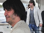 Keanu WHO? Hollywood hunk Reeves boats in Cannes and debuts a nearly unrecognisable bloated appearance