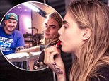 Already addicted to ink! Cara Delevingne has her initials etched onto her hand just one week after getting her first tattoo