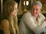 Slick moves: Ryan Lochte has a surprise date with Carmen Electra on the latest episode of his reality show What Would Ryan Lochte Do?