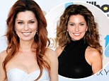 Time for a change! Grecian goddess Shania Twain debuts her new long red hair as she slips into a stunning silver gown at the 2013 Billboard Awards