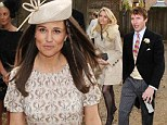 Pippa and James Blunt