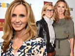 Plus two: Chely Wright and her wife Lauren Blitzer welcomed twin boys on Saturday in New York City