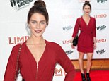 Jessica Lowndes arrives at the opening night of LIMBO at the London Wonderground Festiival held at the South Bank in London