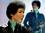 Retro makeover! Prince shows off his disco style in bell bottoms and huge afro as the 2013 Billboard Music Awards honour him as an icon