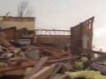 The true scale of the tornado that swept through much of Oklahoma was captured by a number of home-made videos that show the precursor for the devastation on Monday.