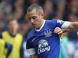 Here to stay: Leon Osman has pledged his future to Everton by agreeing a new two-year deal