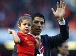Saying his goodbyes? There's no guarantee Luis Suarez will remain at Liverpool next season