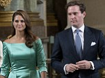 Princess Madeleine of Sweden and fiancé Christopher O'Neill