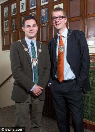 Joe (left) and Mark (right) Harris are both Liberal Democrats are are said to share a political vision