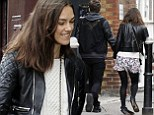 Newlyweds Keira Knightly and James Righton spotted taking a stroll through trendy Brick Lane in London