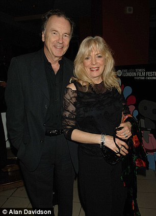 Alison Steadman and her partner Michael Elwyn. She has lamented the number of divorces that take place