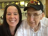 A 91-year-old WWII veteran: John Potter