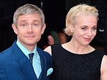 Independent: Amanda Abbington, pictured with partner Martin Freeman at the BAFTA TV Awards on May 12, is paying off her own debts