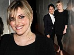 Statuesque Sophie Dahl shows off her post-baby body as she supports husband Jamie Cullum at album launch