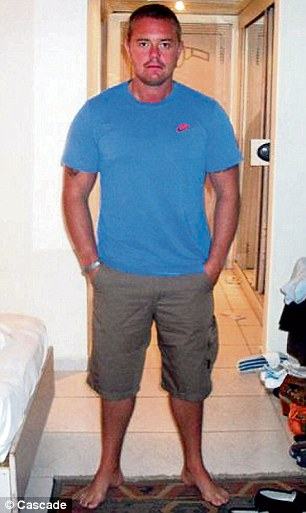 Mr Blythe says he looks back at holiday photos and realises he was overweight