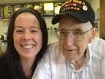 A 91-year-old WWII veteran: John Potter