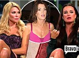 Kyle Richards nearly quits Real Housewives after Brandi Glanville and Lisa Vanderpump confront her over allegations her husband is cheating